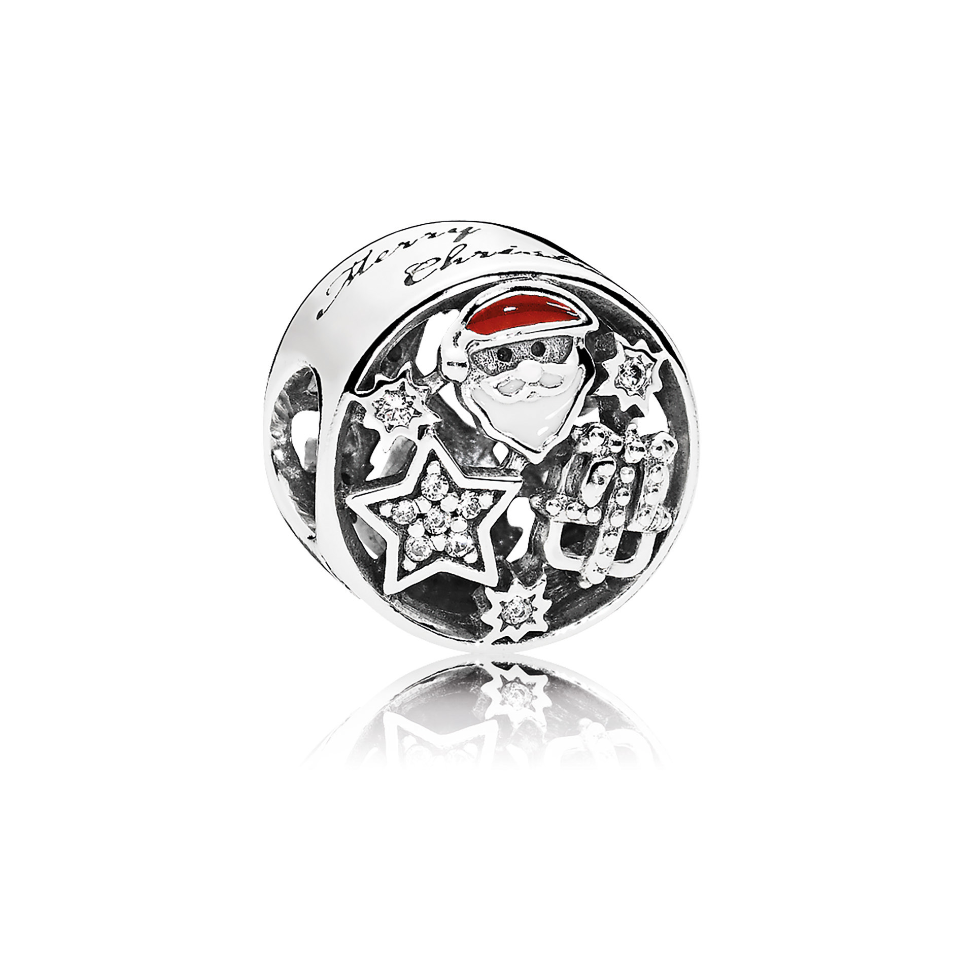 The Christmas Joy charm from PANDORA's Winter collection embraces the holiday season