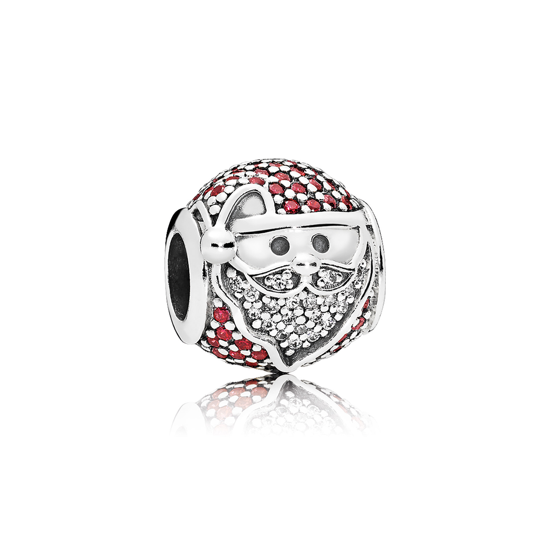 The Sparkling Jolly Santa charm from PANDORA Jewelry's Winter collection shines bright this season