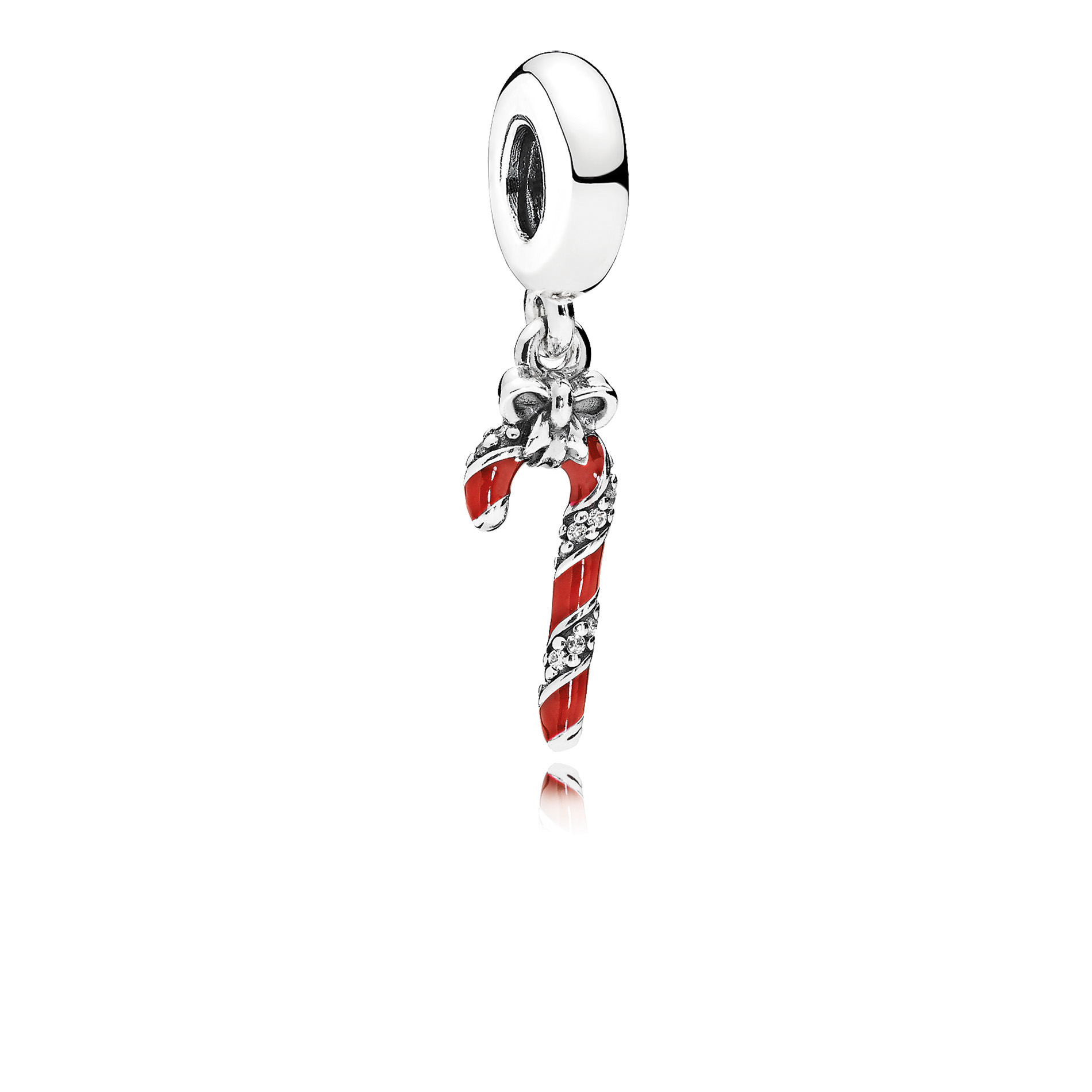 The Sparkling Candy Cane charm is a sweet treat from PANDORA this year