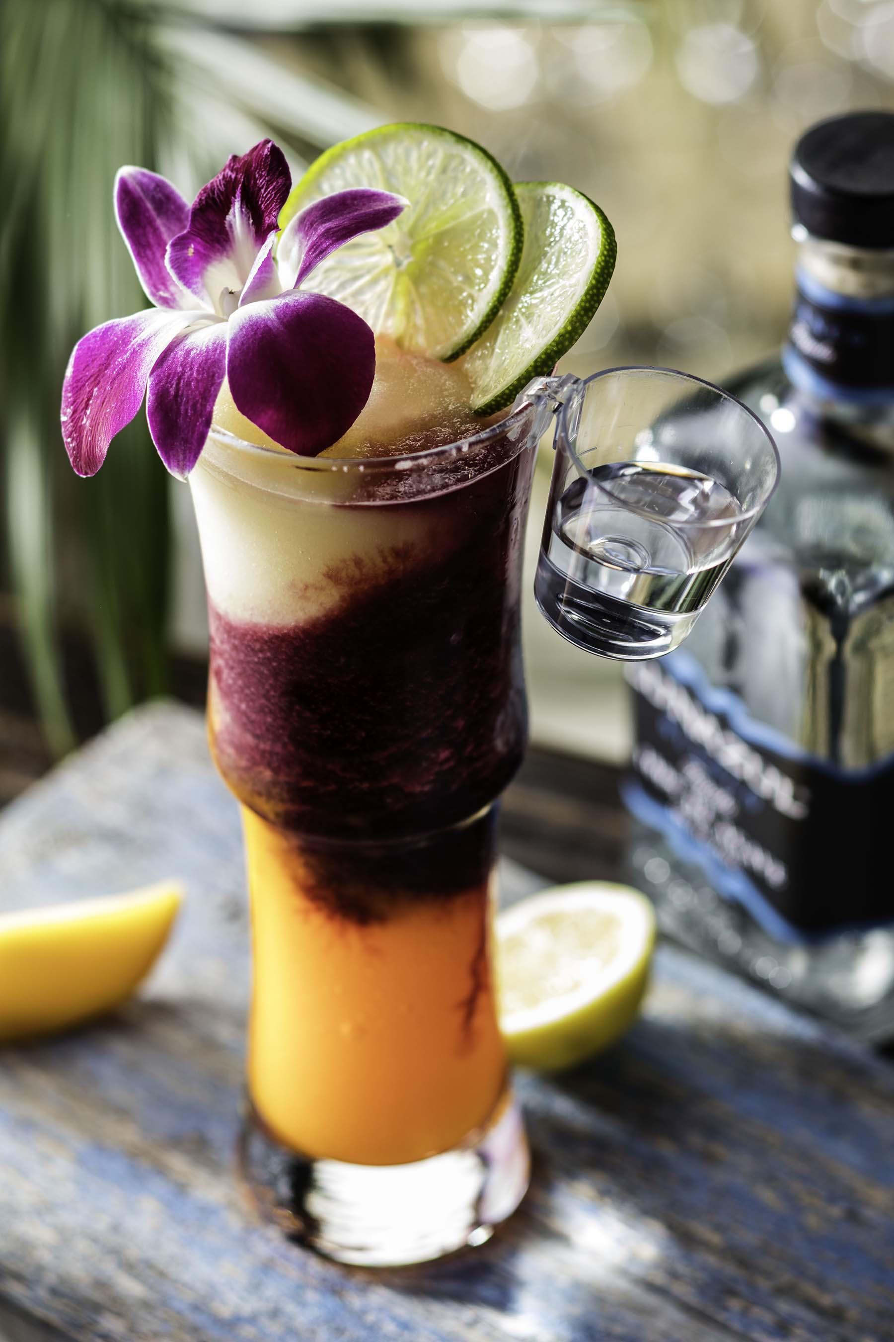 The restaurant's new Lava Lava 'Rita – a fresh twist on a frozen margarita, featuring layers of mango, lemon and hibiscus – makes its debut during Viva la 'Rita.