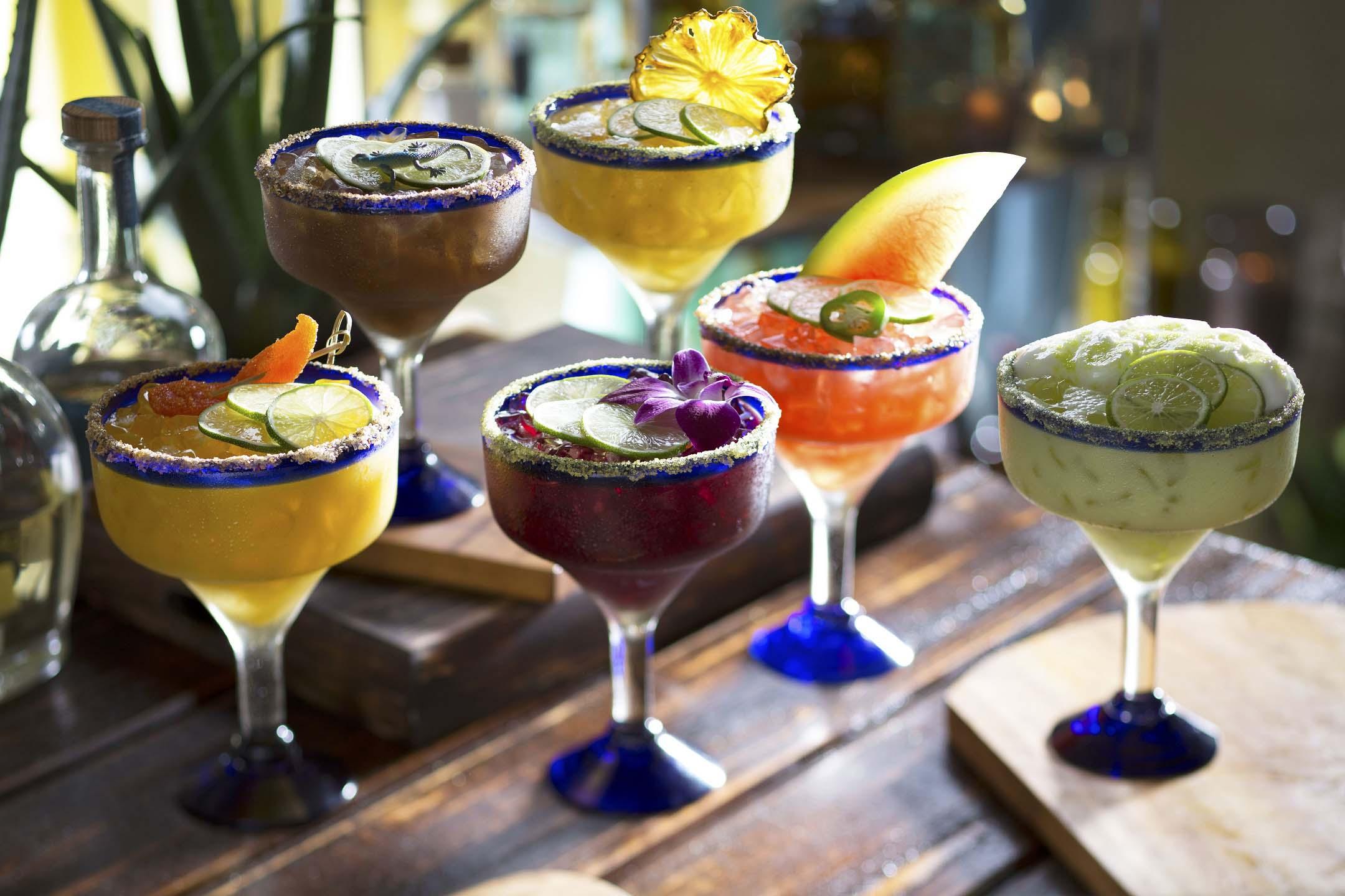 Enjoy one of the many margarita selections at Bahama Breeze, including Tamarind Margarita, Hibiscus Margarita and more!
