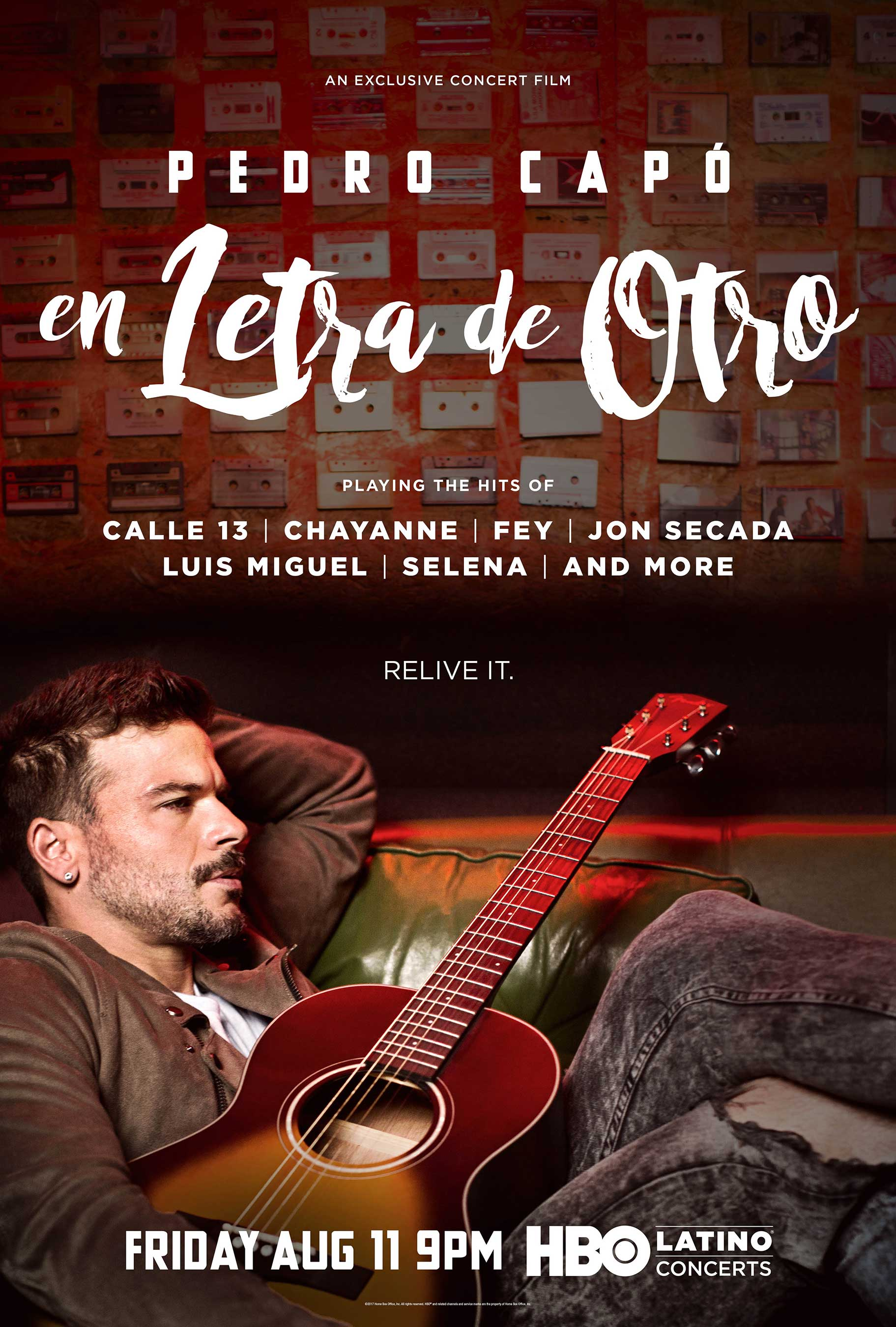 HBO Latino® To Premiere Exclusive Concert Film