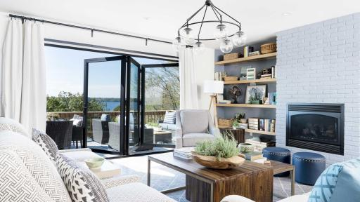 Take a virtual tour of diy network ultimate retreat 2017 for The family room vermont