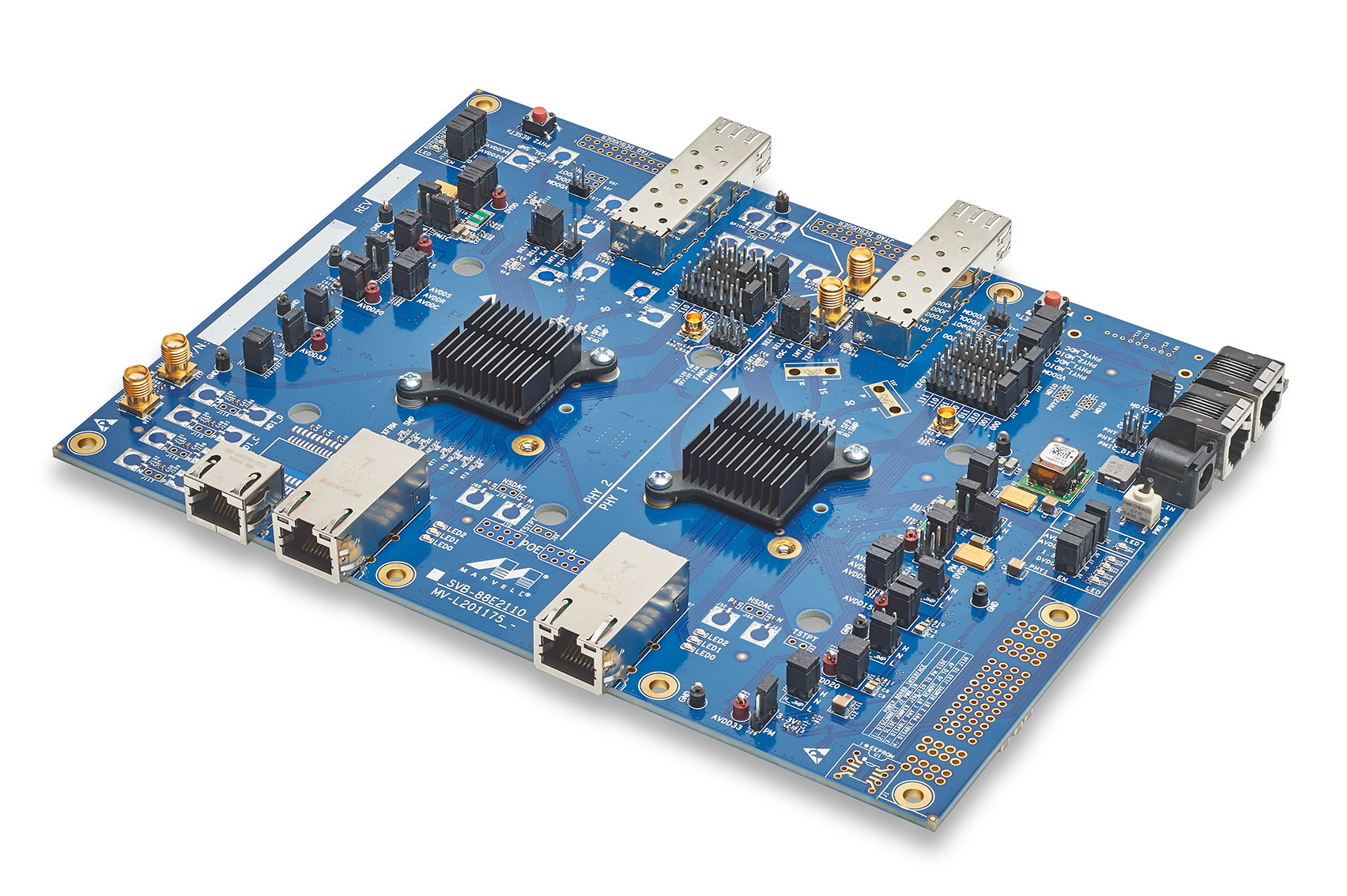 Marvell's Alaska® M 88E2110 Gigabit Ethernet Development Board