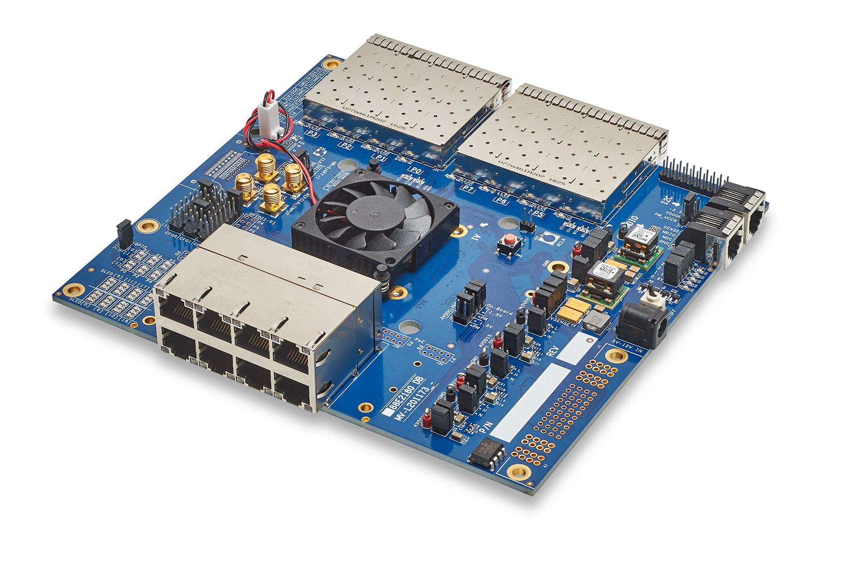 Marvell's Alaska® M 88E2180 Gigabit Ethernet Development Board