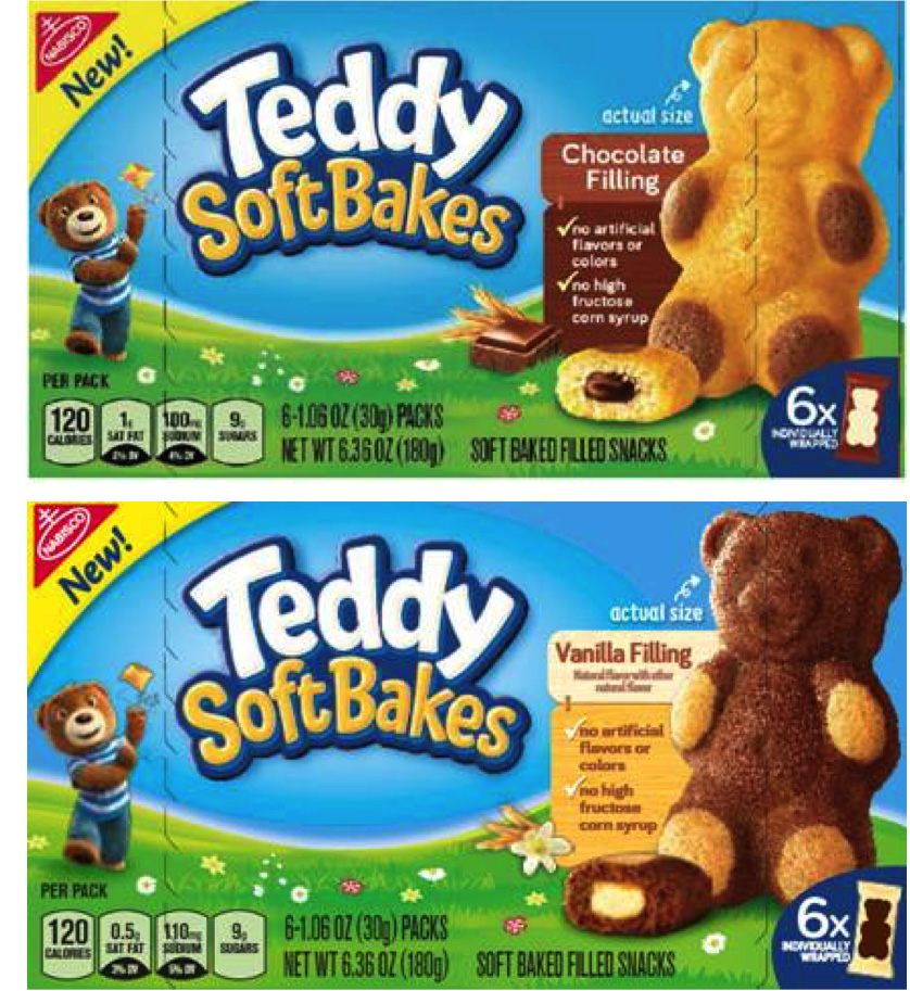 TEDDY Soft Bakes Packaging