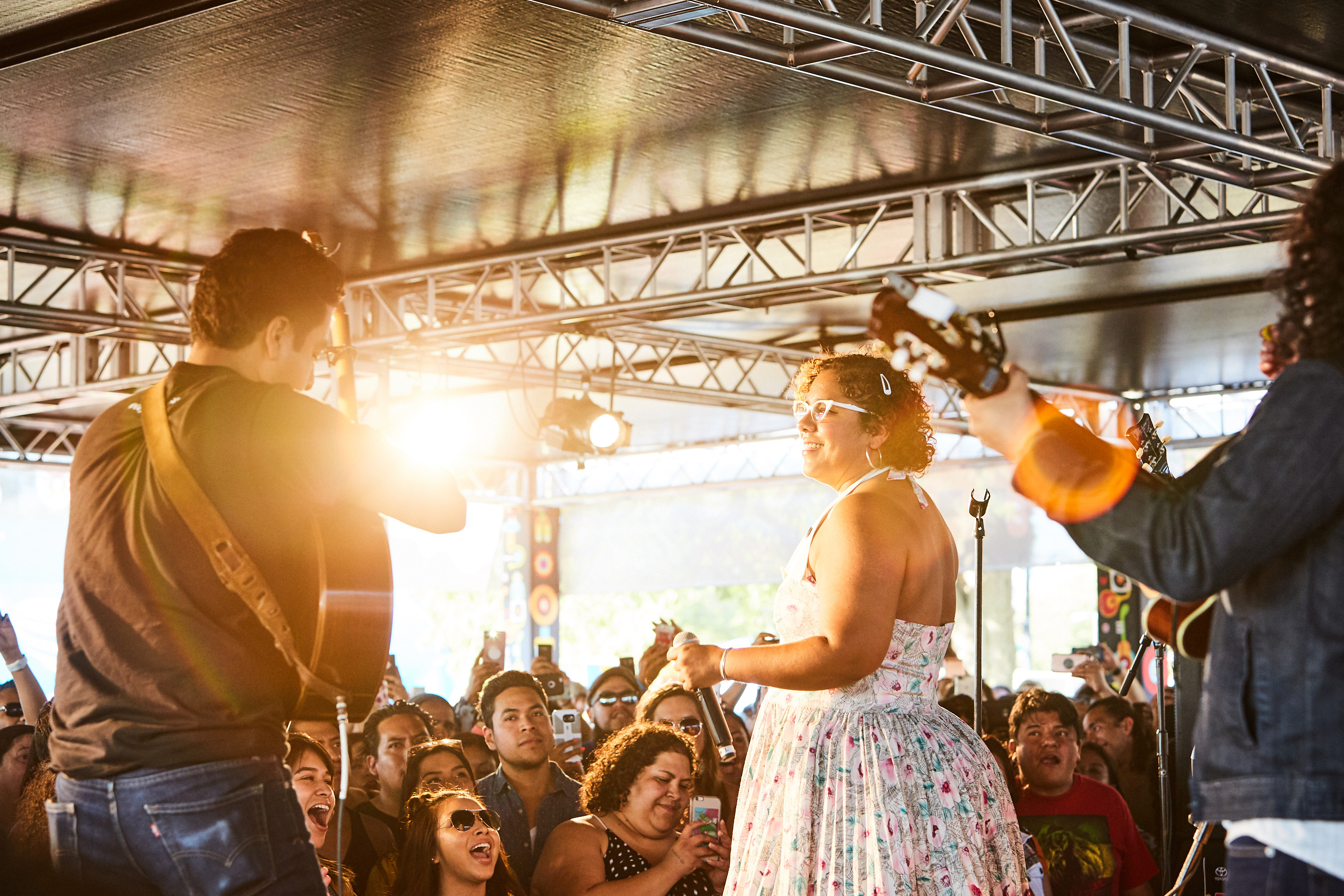 The Toyota Music Den at Ruido Fest 2017 featured La Santa Cecilia who rocked day 2 of a music-packed weekend.