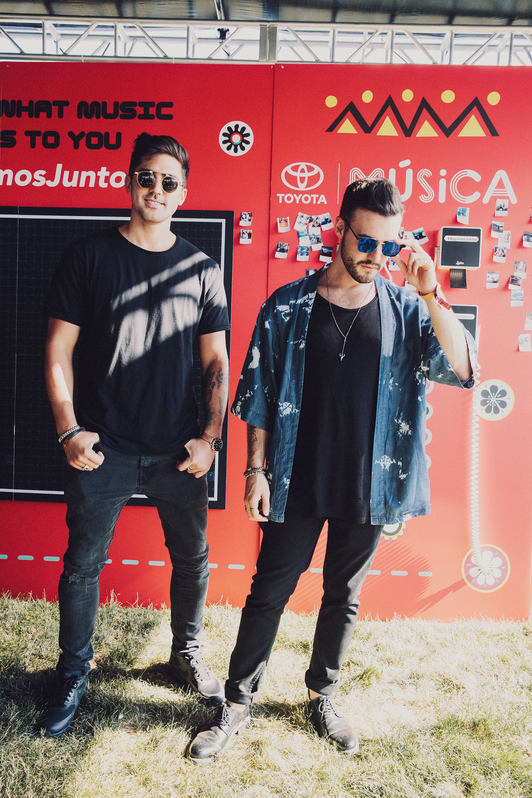 Mexican DJ duo, Tom & Collins, kicked off day 1 of Ruido Fest 2017 at the Toyota Music Den