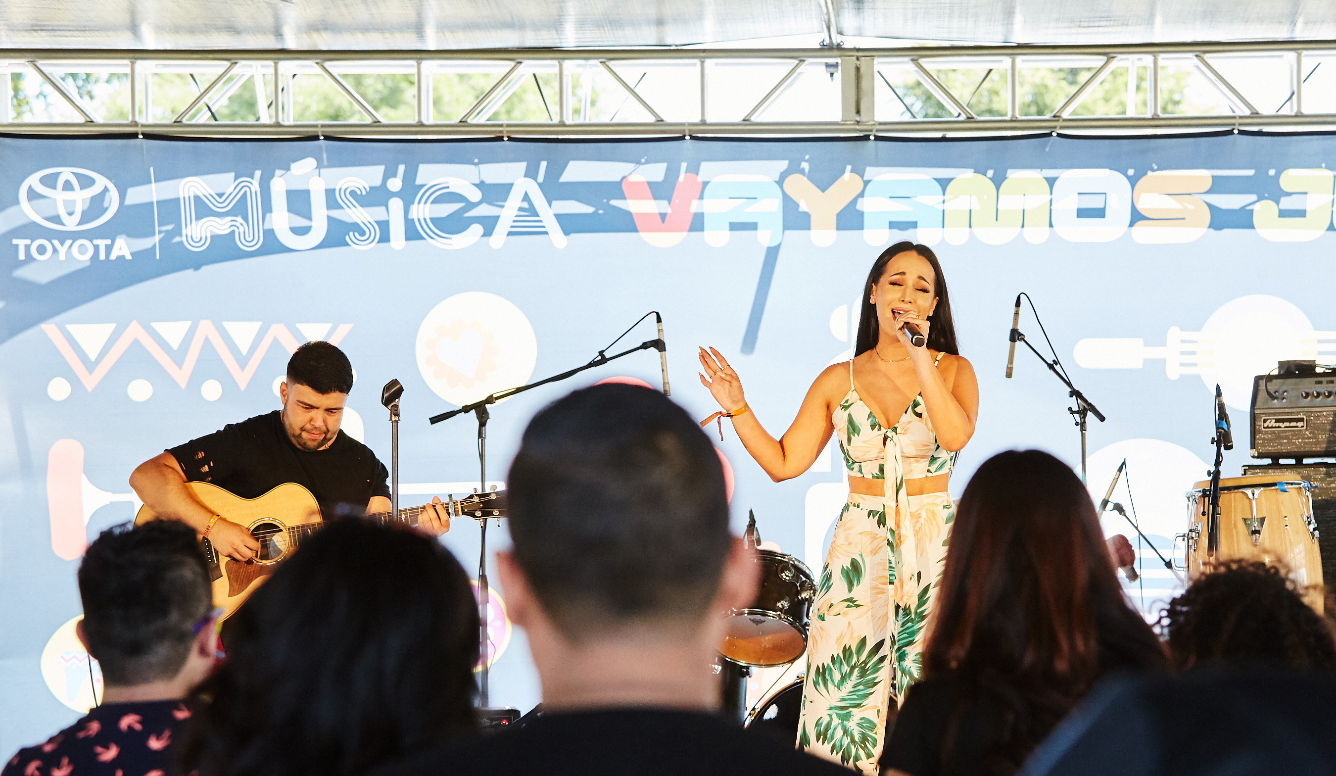 Victoria La Mala captivated the audience at the Toyota Music on day 2 of Ruido Fest 2017.