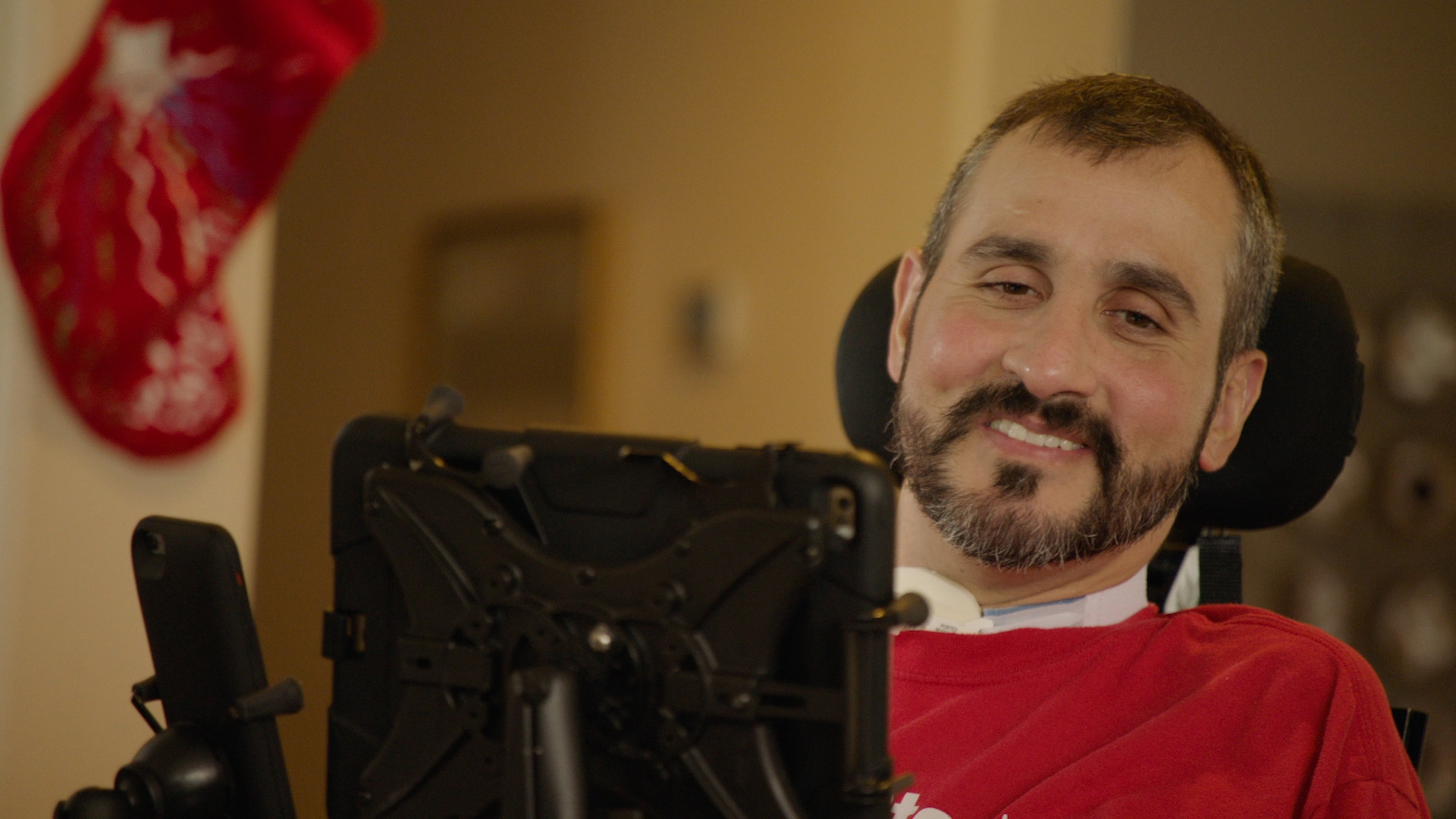 Decorated U.S. war veteran Romulo (Romy) Camargo participated in the first North American in-home trial of Toyota's Human Support Robot (HSR). Romy's injuries in Afghanistan left him paralyzed from the neck down.