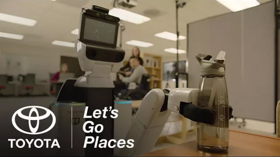 Decorated U.S. war veteran Romulo (Romy) Camargo participated in the first North American in-home trial of Toyota's Human Support Robot (HSR). The company's ongoing robotics research is designed to help people with limited mobility as part of its commitment to advance mobility for all.