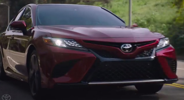 "All-new Toyota Camry ignites the senses with the TV spot Captivating from the new ""Sensations"" campaign."