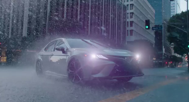 "Emotions are highlighted in the All-New 2018 Camry ""Sensations"" Campaign featuring the TV spot Thrill."