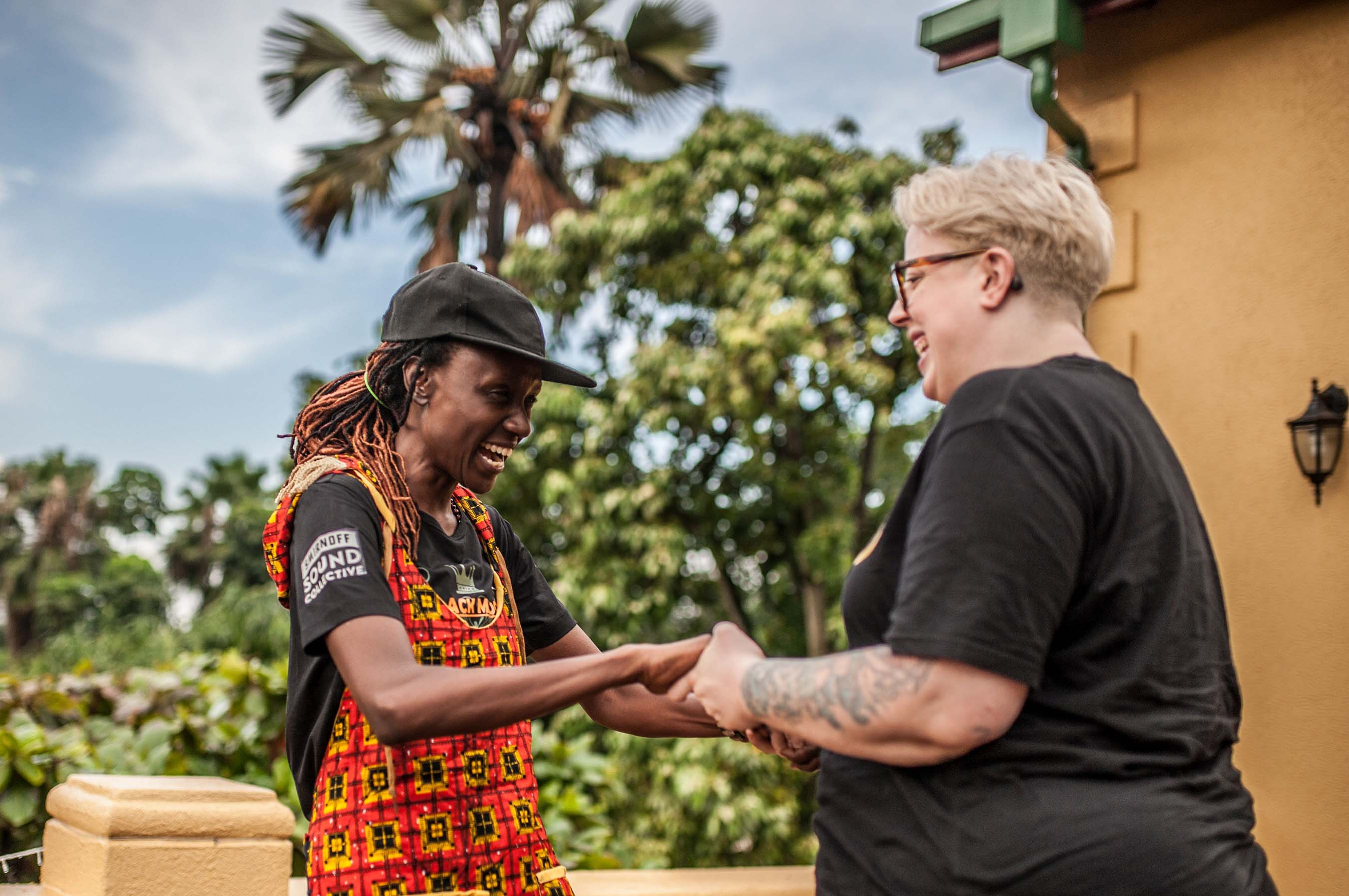 "U.S. DJ The Black Madonna and Ugandan DJ Rachael compare their unique struggles as woman-identified DJ talent in their respective countries in ""SMIRNOFF: Equalizing Music"""