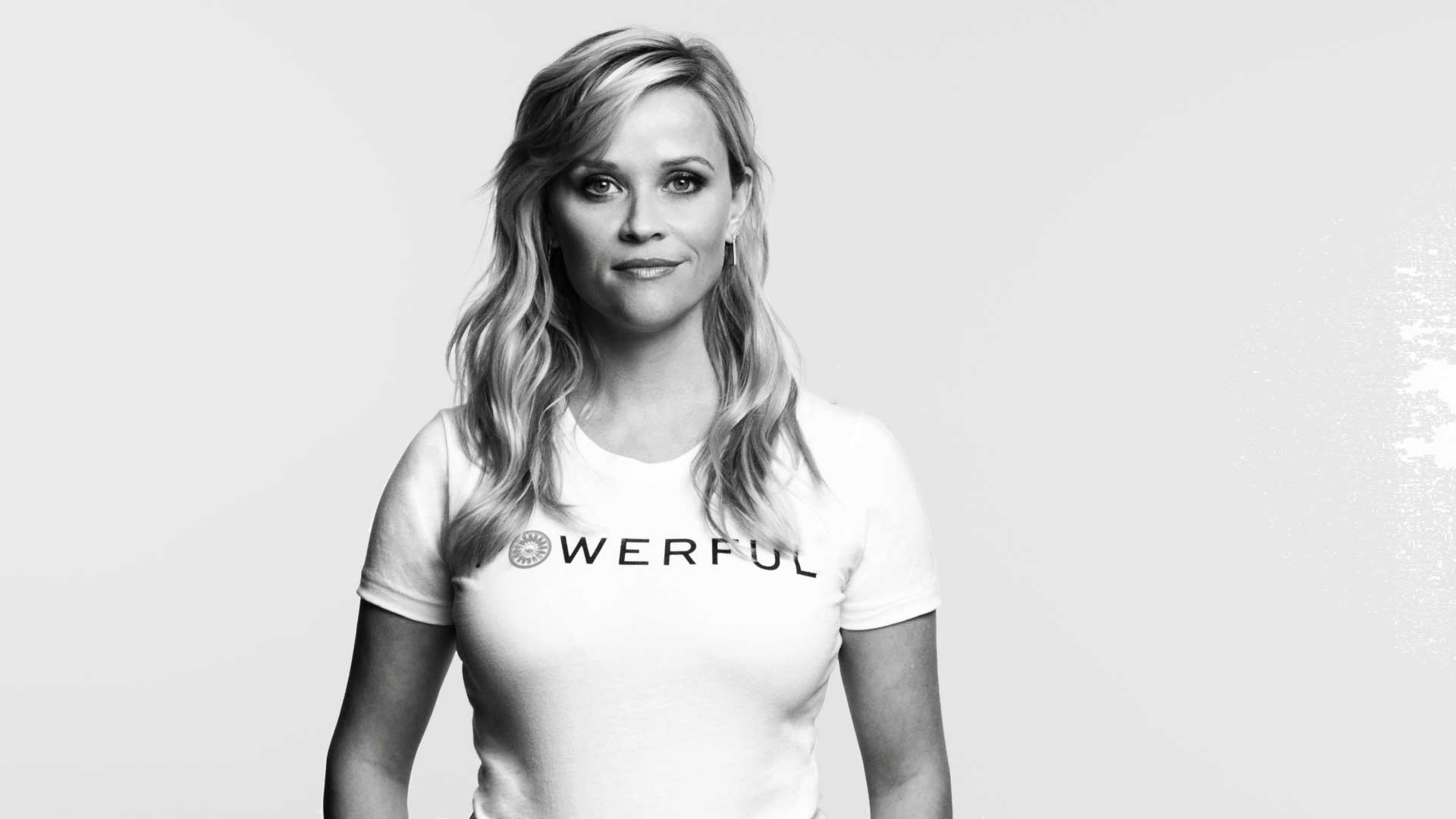 """I can think of a lot of dirty words - ambition is not one of them,"" Reese Witherspoon says as part of the Tory Burch Foundation's PSA video that asks women to Embrace Ambition on International Women's Day."