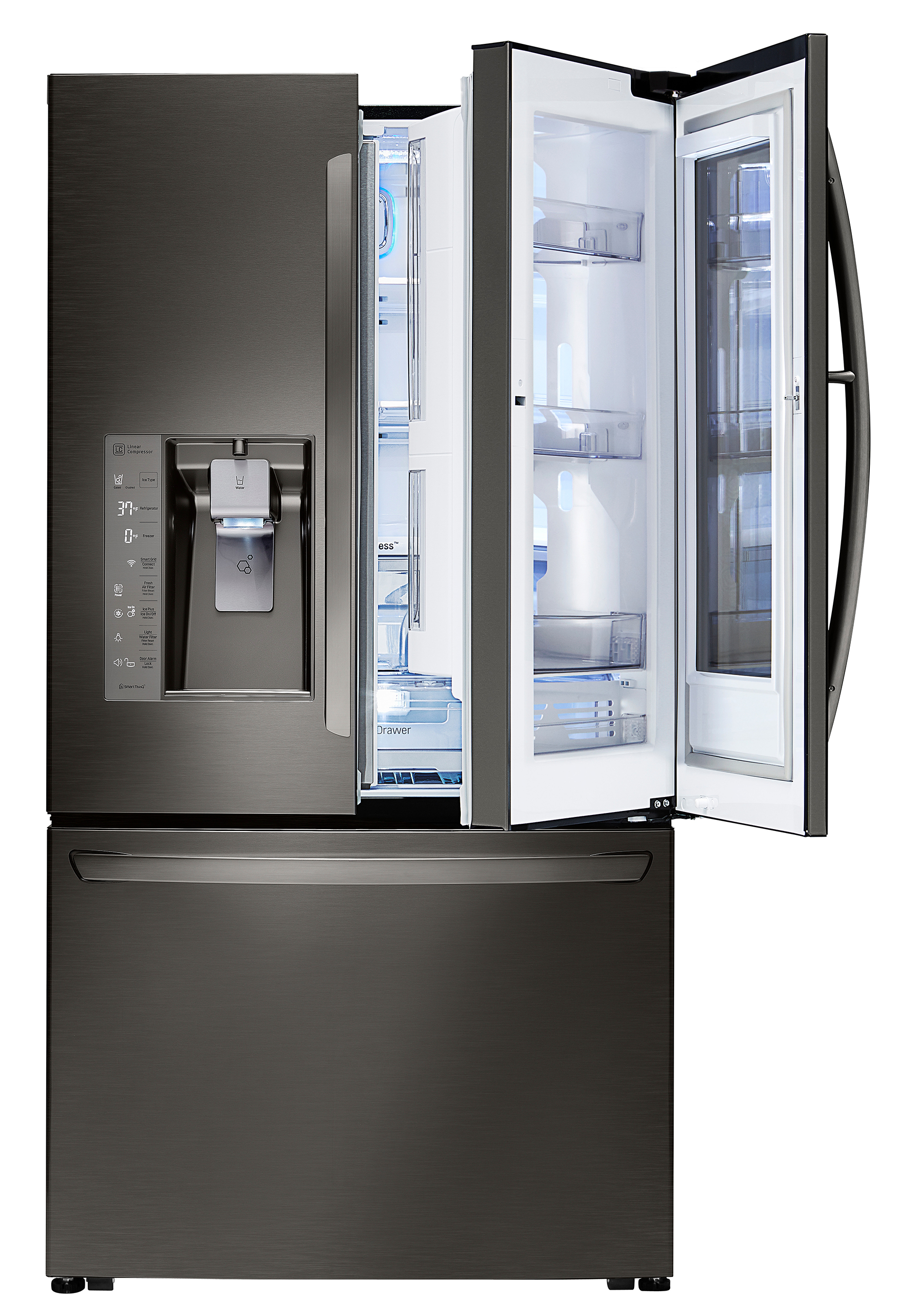 lg instaview refrigerator surprised new yorkers with starring role