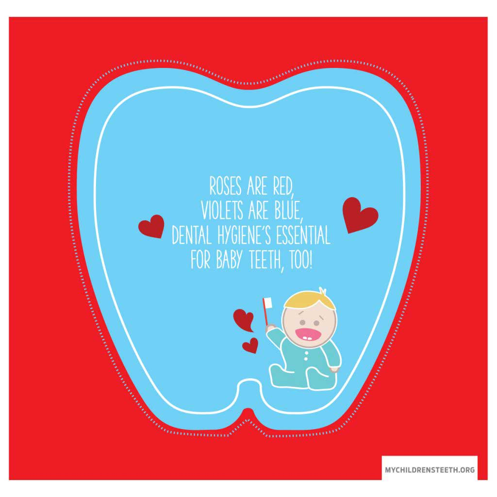 My Sweet Valentine, Your Smile Is Amazing. But When Your Teeth Touch, It's Time To Start Flossing.