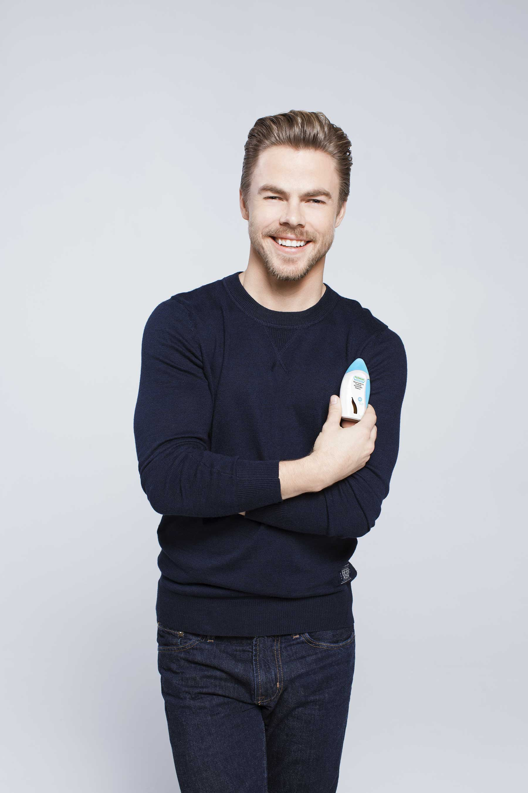 Derek Hough Sends Social Media Stars, the Eh Bee Family, on Cross-Country Road Trip to Reimagine What's Possible Despite Allergies