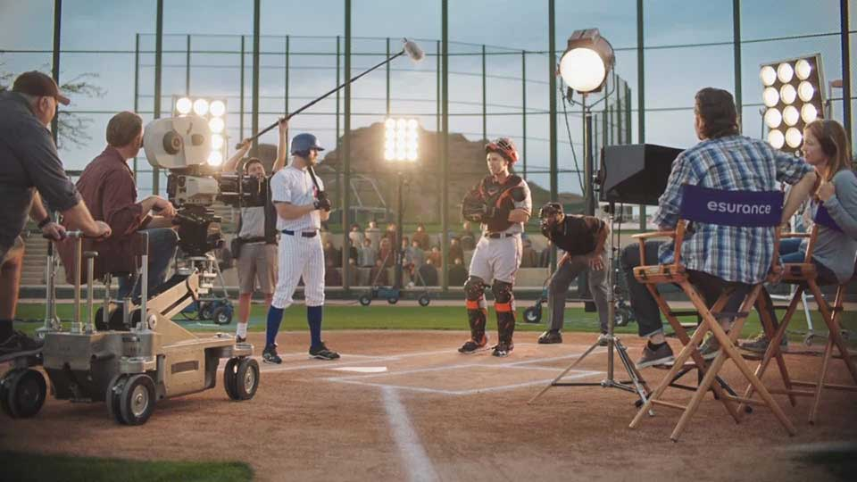 "Esurance launches new commercial with Buster Posey ""Buster's in Control."""