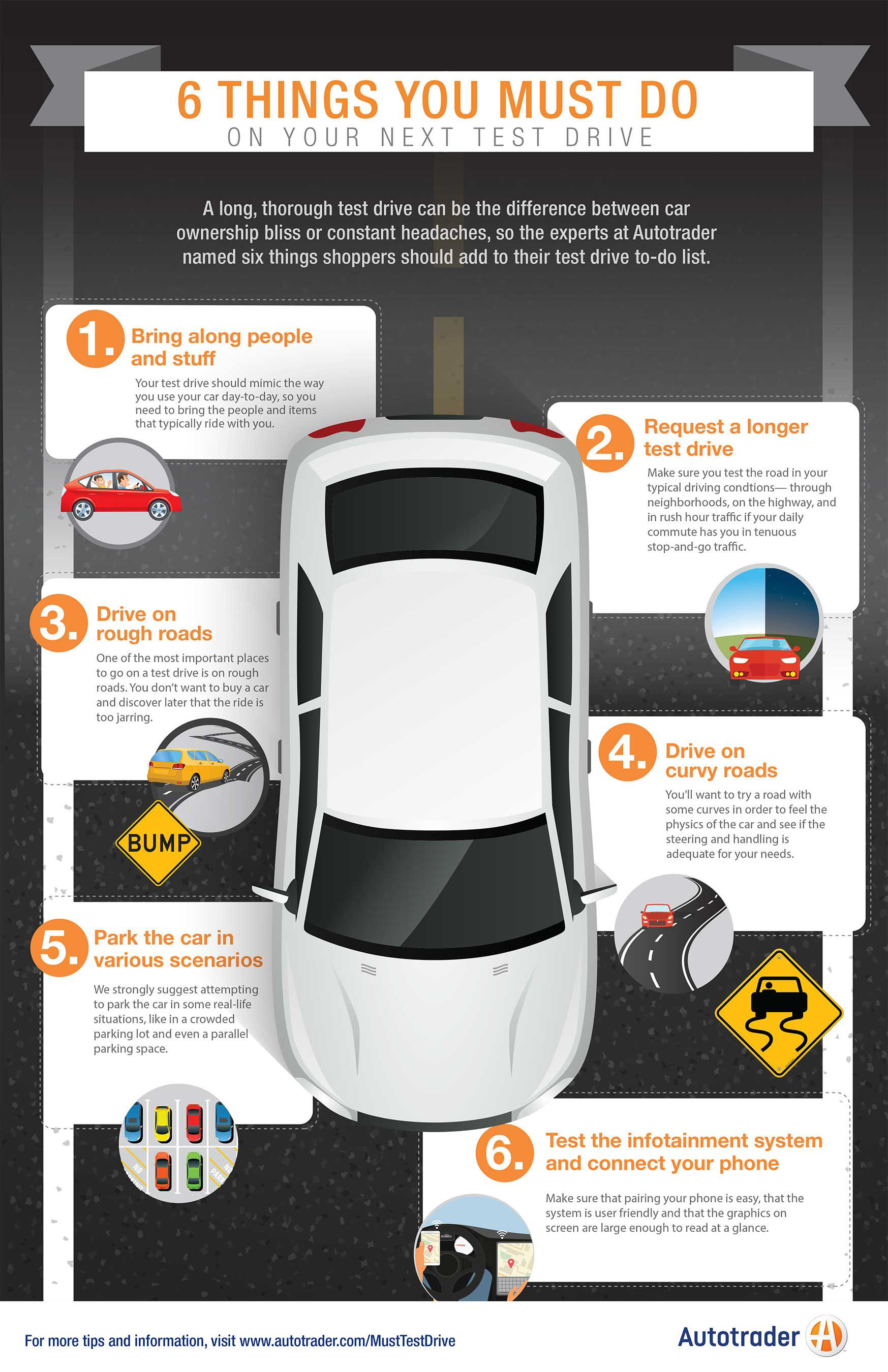 Must Test Drive Infographic
