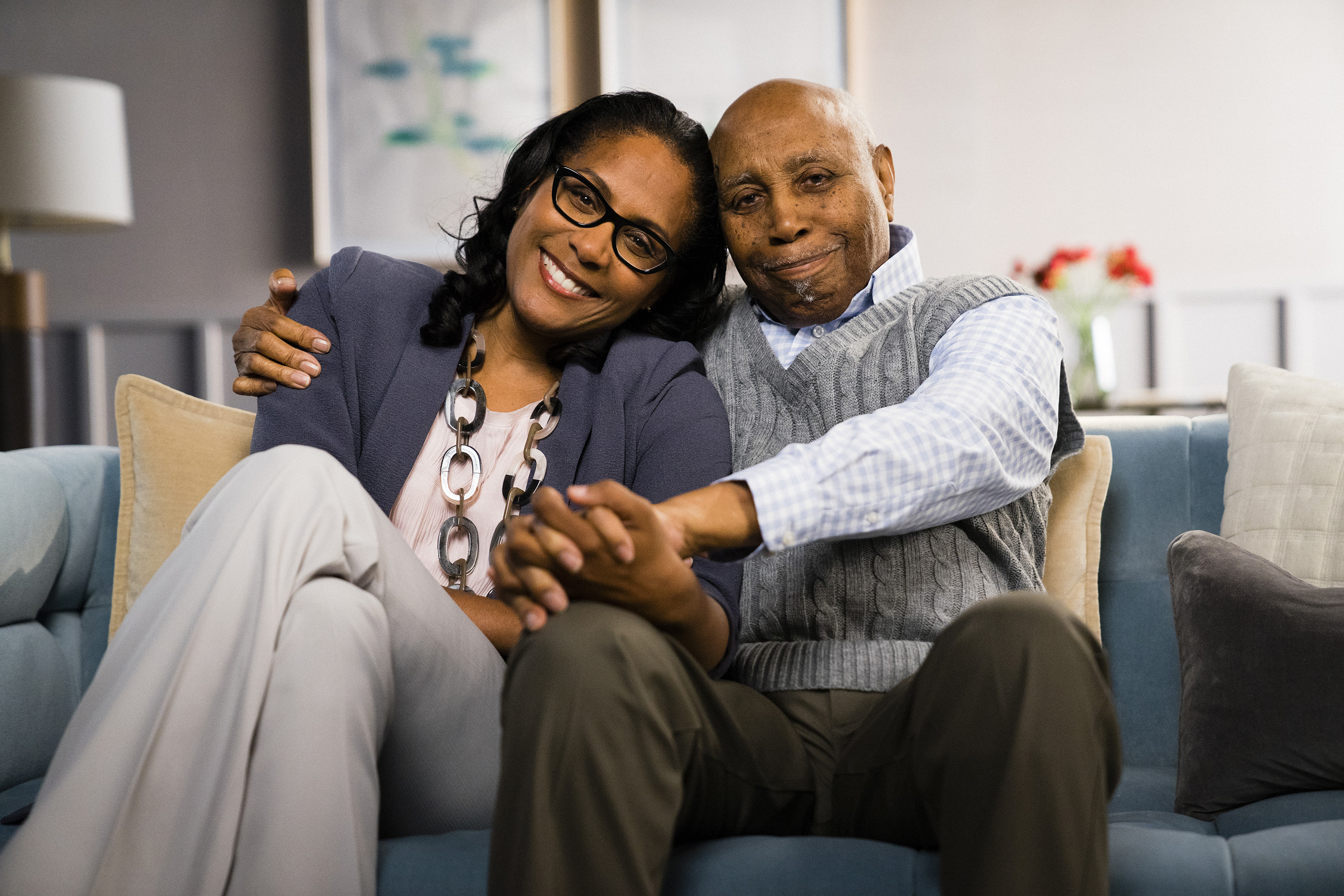 After Dr. Watson's dad, Edward, who is living with type 2 diabetes, had a heart attack, she decided to pursue cardiology to help people with diabetes understand their risk for cardiovascular disease.