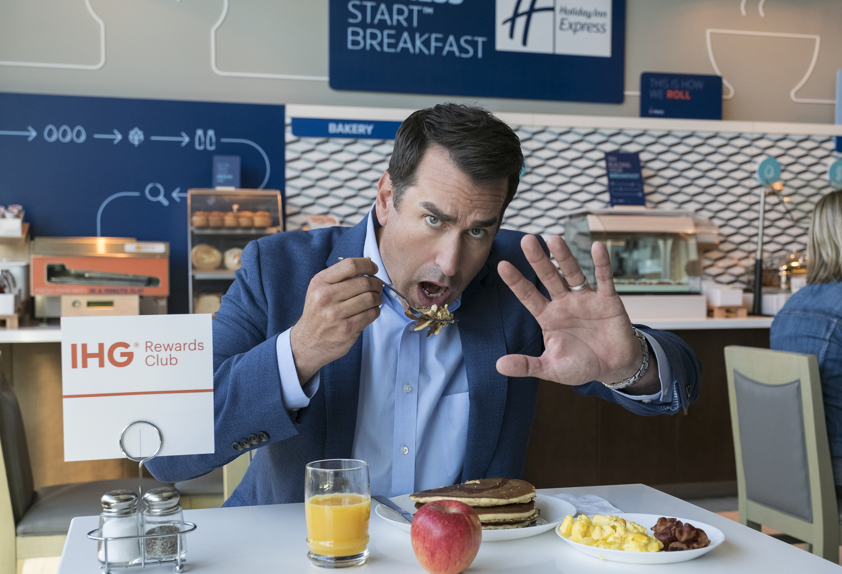 Rob Riggle, Champion of the Readiest