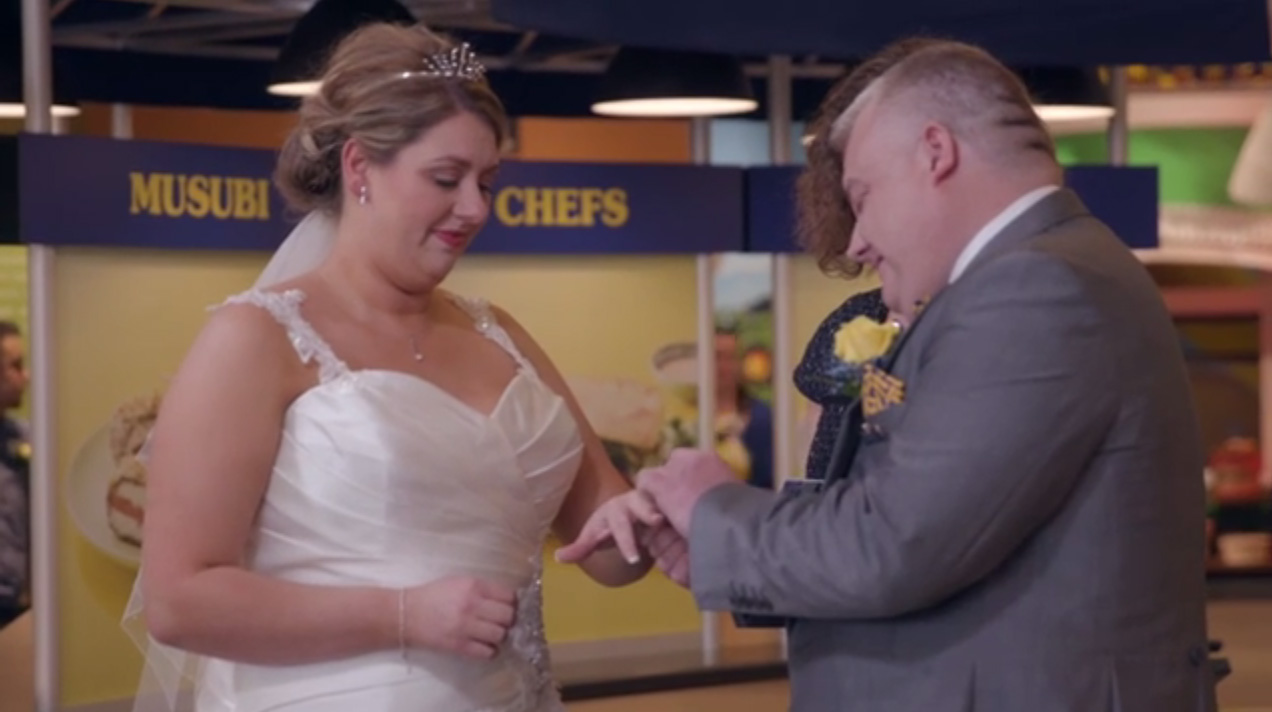 Liverpool Couple Holds Wedding at SPAM® Museum