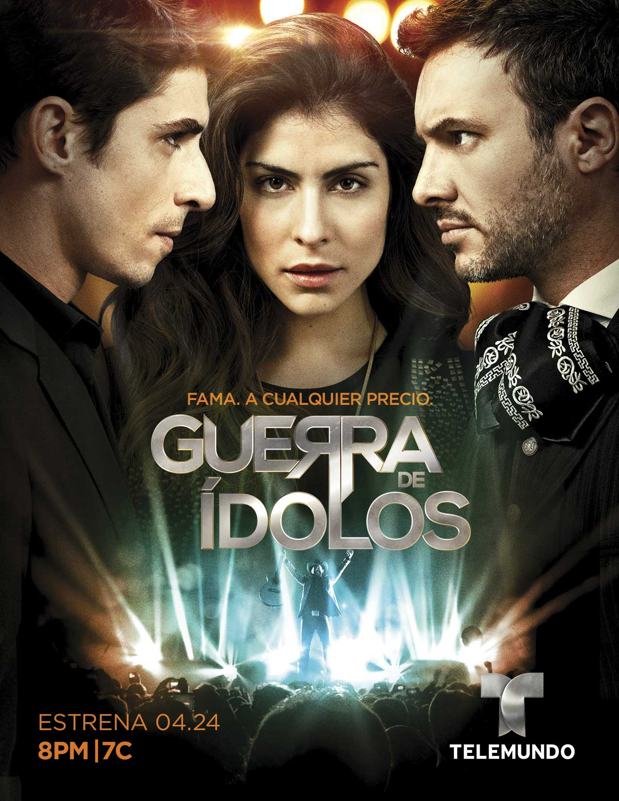 "Telemundo Presents ""Guerra De Ídolos,"" The First Ever Scripted Drama Music Series On U.S. Spanish-Language Television, Monday, April 24 At 8pm/7c"