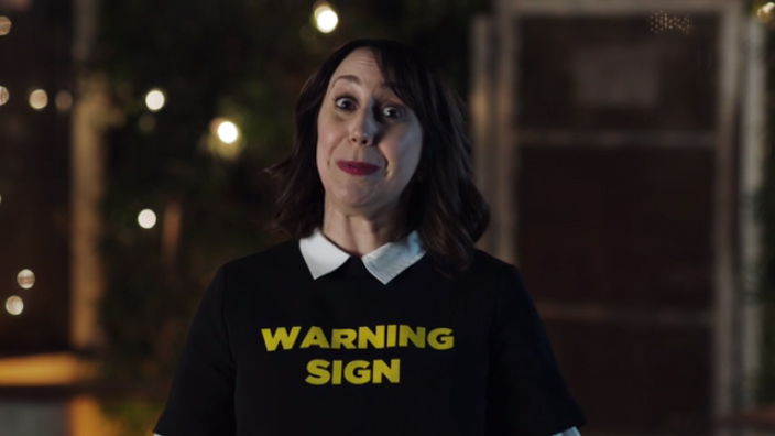 Considering texting your ex? Warning sign! You probably aren't okay to drive. If you've been drinking, remember to call a cab, car or friend.