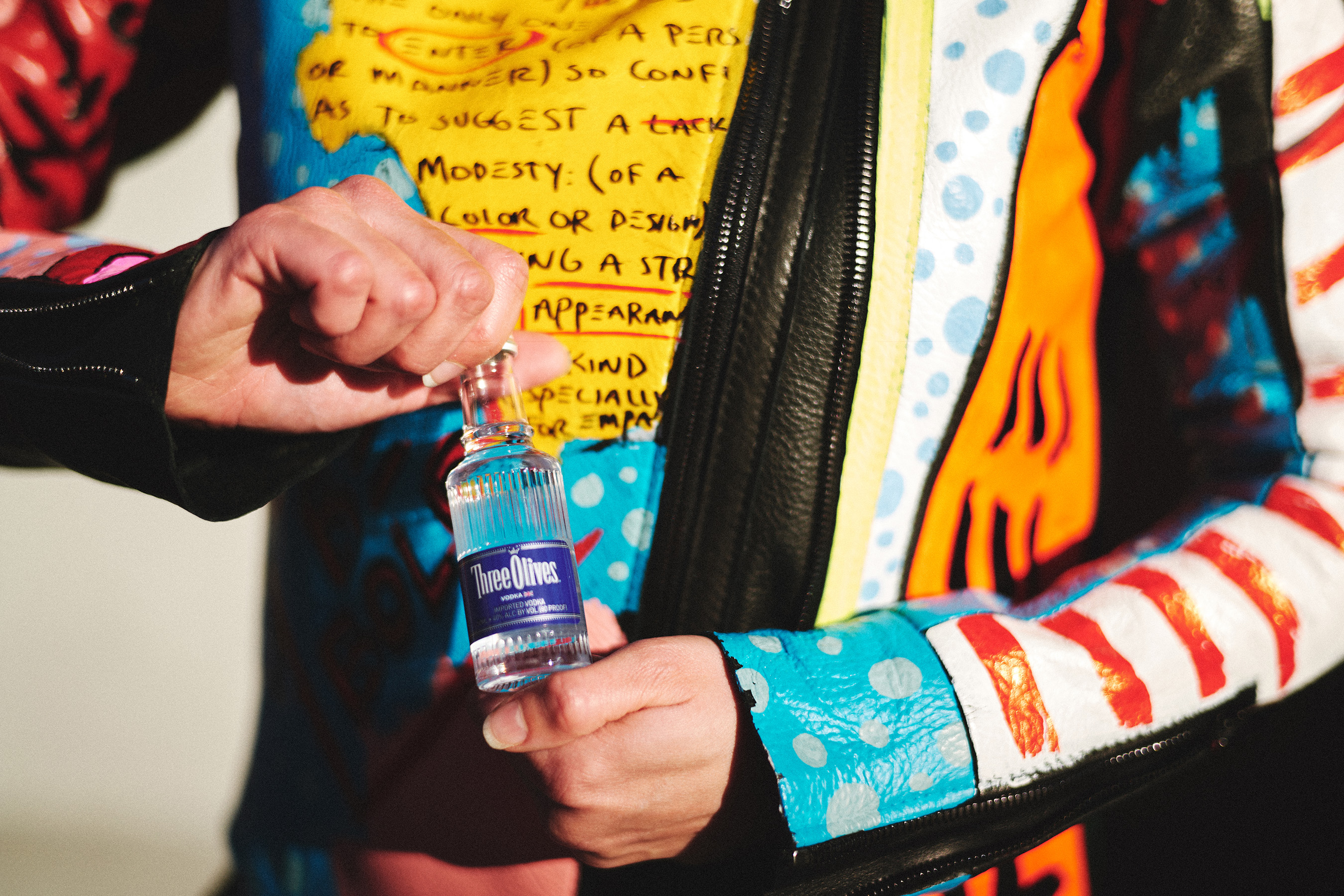 """""""Find Otherness"""" celebrates individuality, and one way to show that off is through personal style. Three Olives partnered with spirited Designer and Visual Artist, Ron Bass to share his bold approach."""