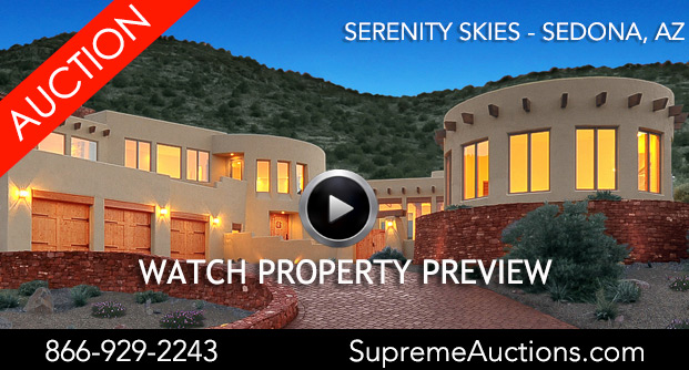 Supreme Auctions offers Sedona estate in Arizona at Luxury Auction 10/14/2017