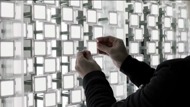 TOKUJIN YOSHIOKA x LG S.F_Senses of the Future is a tapestry of light which will illuminate 2017 Milano Design Week.