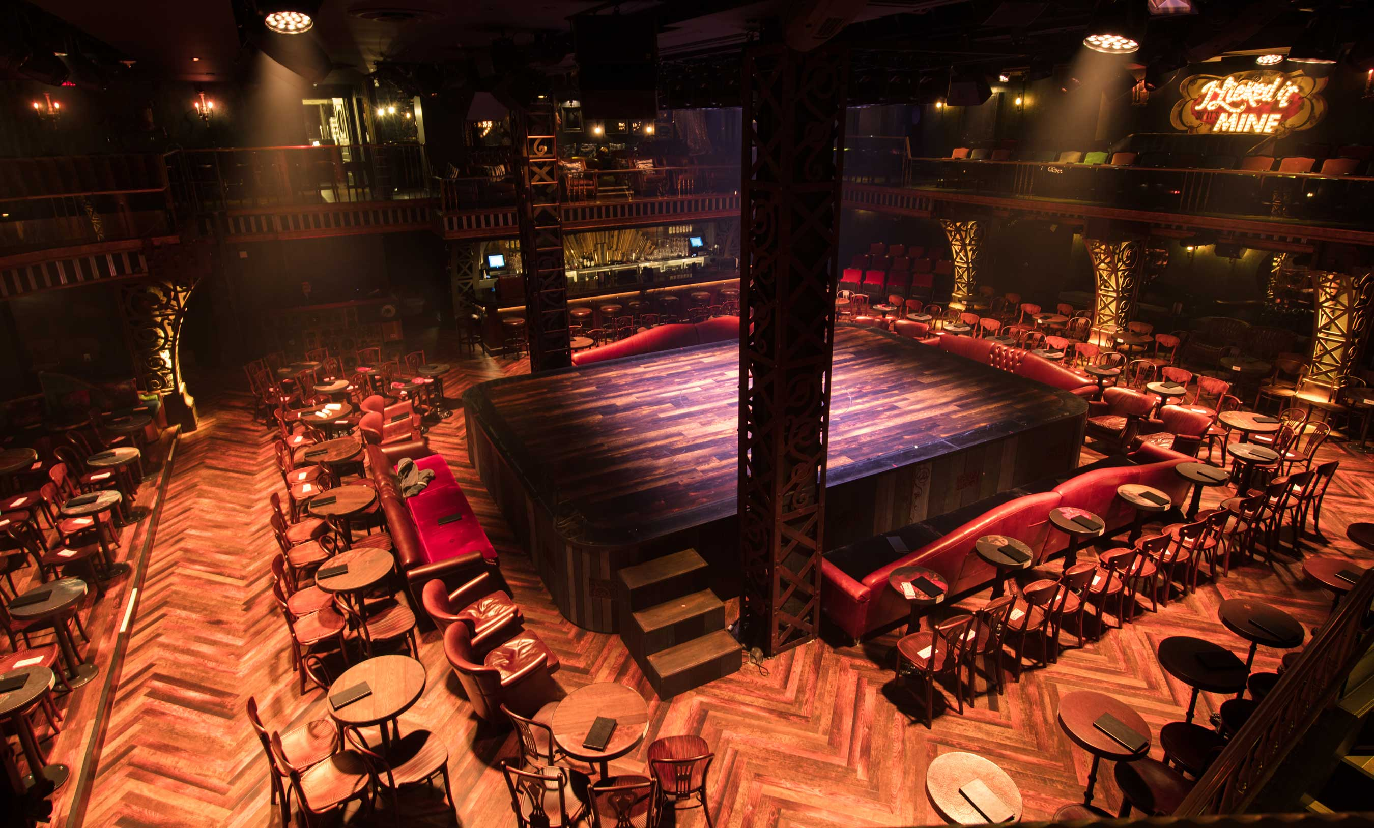 Hard Rock Cafe Stage For Magic Mike