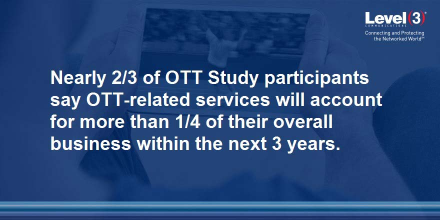 OTT Becoming Larger Part of the Business Plan
