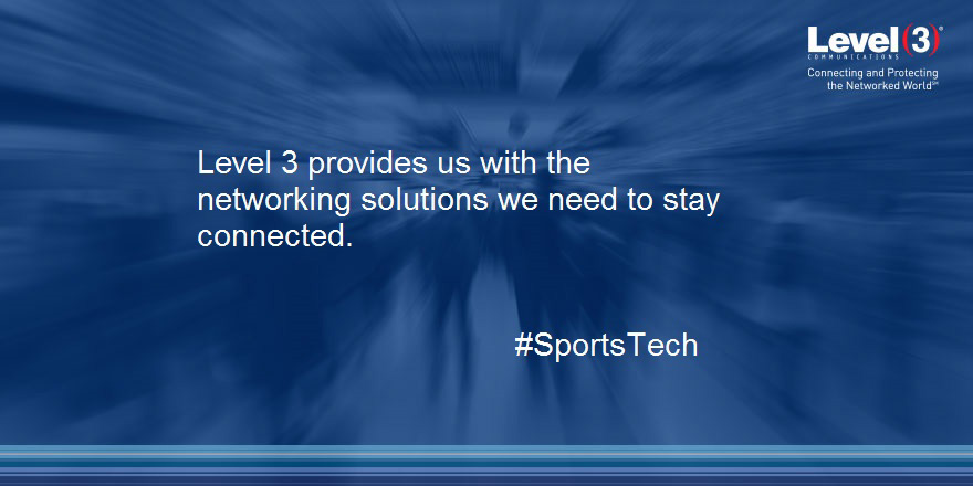 Level 3 provides us with the networking solutions we need to stay connected.