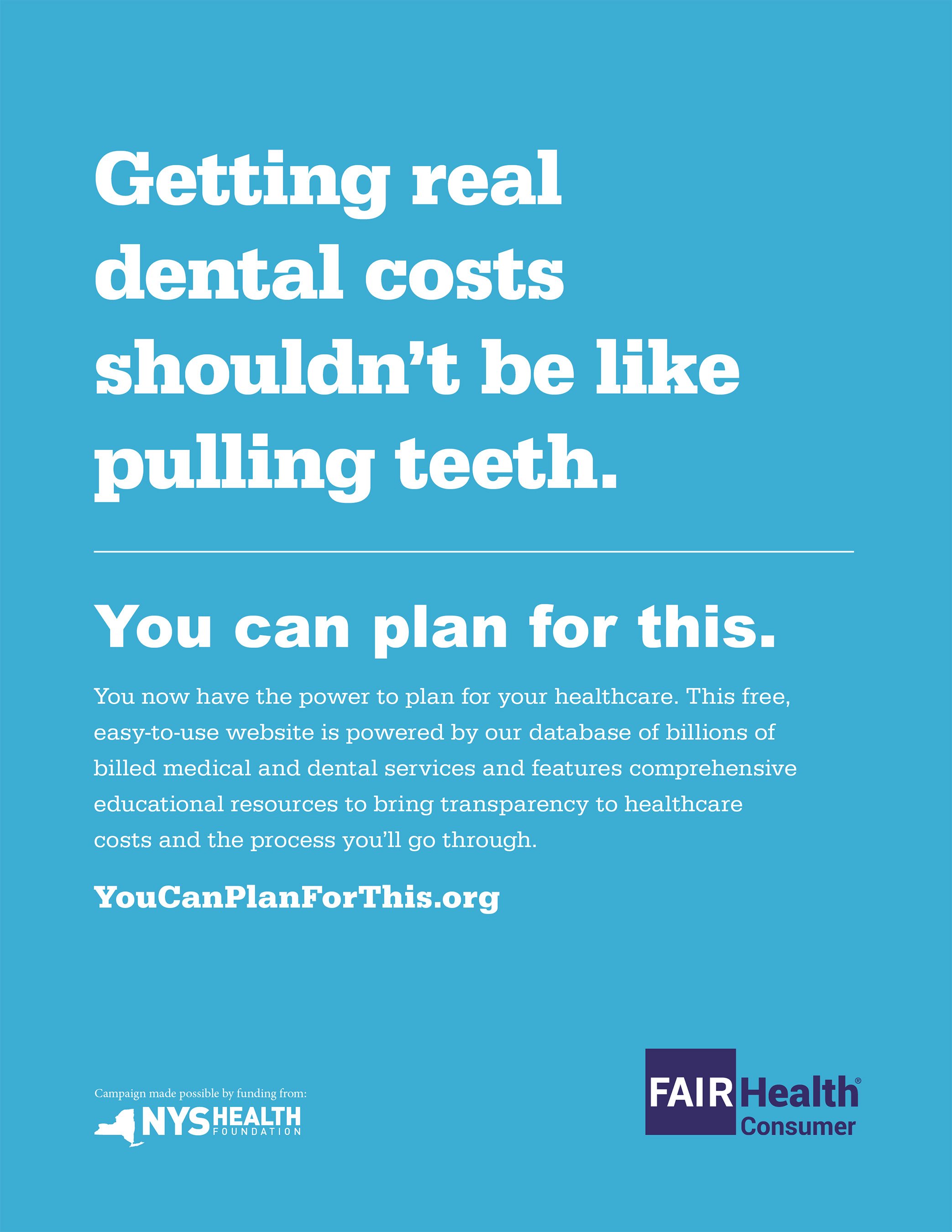 Getting real dental costs shouldn't be like pulling teeth