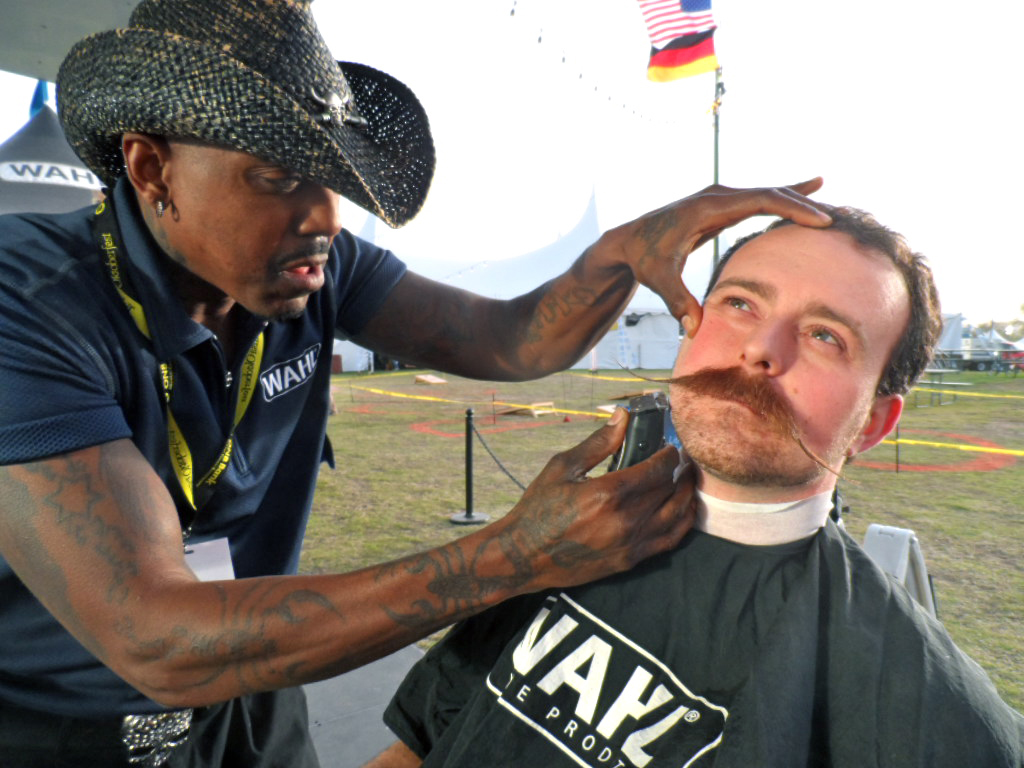 Wahl will select one guy from each tour stop location and one guy from online entries to compete in the Wahl Man of the Year contest.