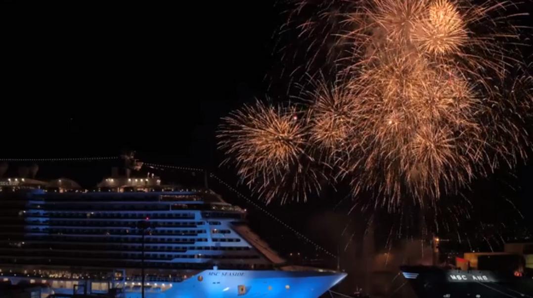 MSC Seaside Named at Miami Ceremony
