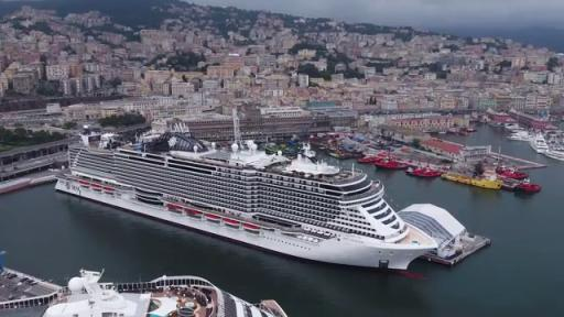 Play video: MSC Seaview Christening