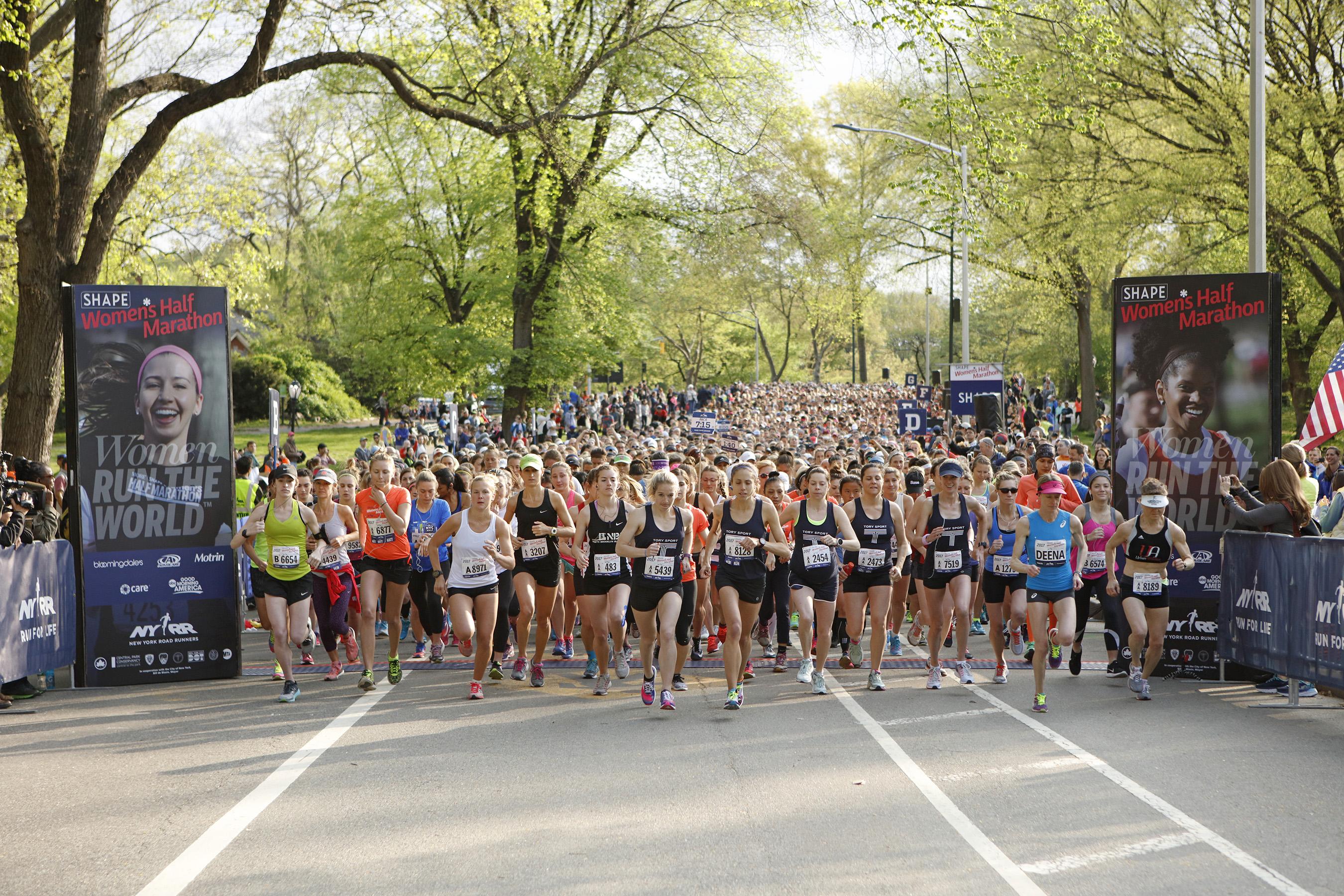 2017 SHAPE Women's Half-Marathon Draws Thousands Of Women From Around The World