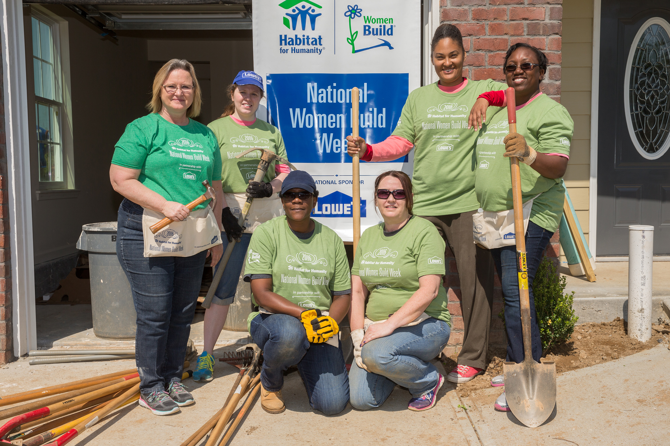 Every connection creates the opportunity to build a better life. National Women Build Week empowers women and gives them a platform to tackle affordable homeownership in their communities.
