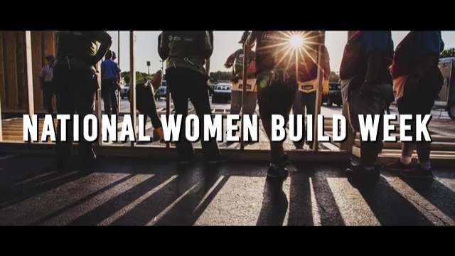 This May 6-14, National Women Build Week celebrates its 10th annual event.