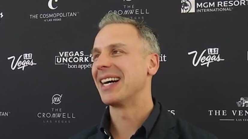 Bon Appétit Editor in Chief Adam Rapoport gives a preview the four-day culinary festival Vegas Uncork'd by Bon Appétit (credit Las Vegas News Bureau)