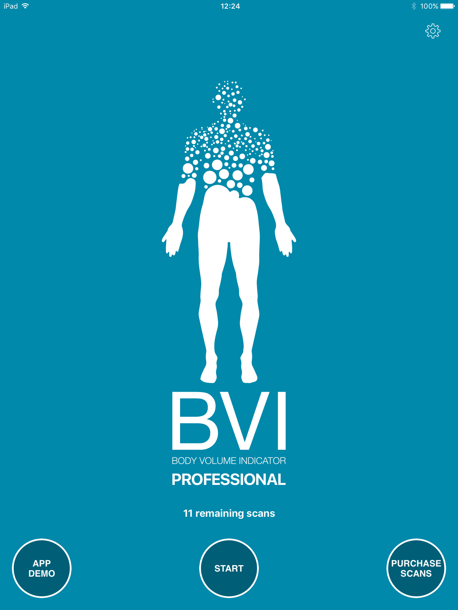 BVI Pro App Welcome Screen