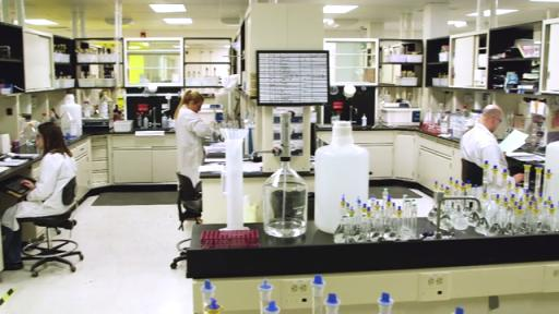 Mylan Morgantown manufacturing and R&D footage