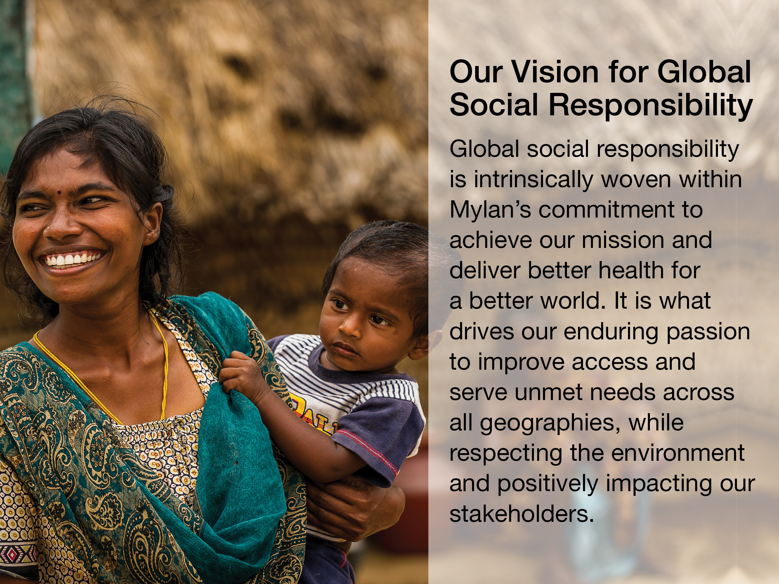 Our Vision for Global Social Responsibility