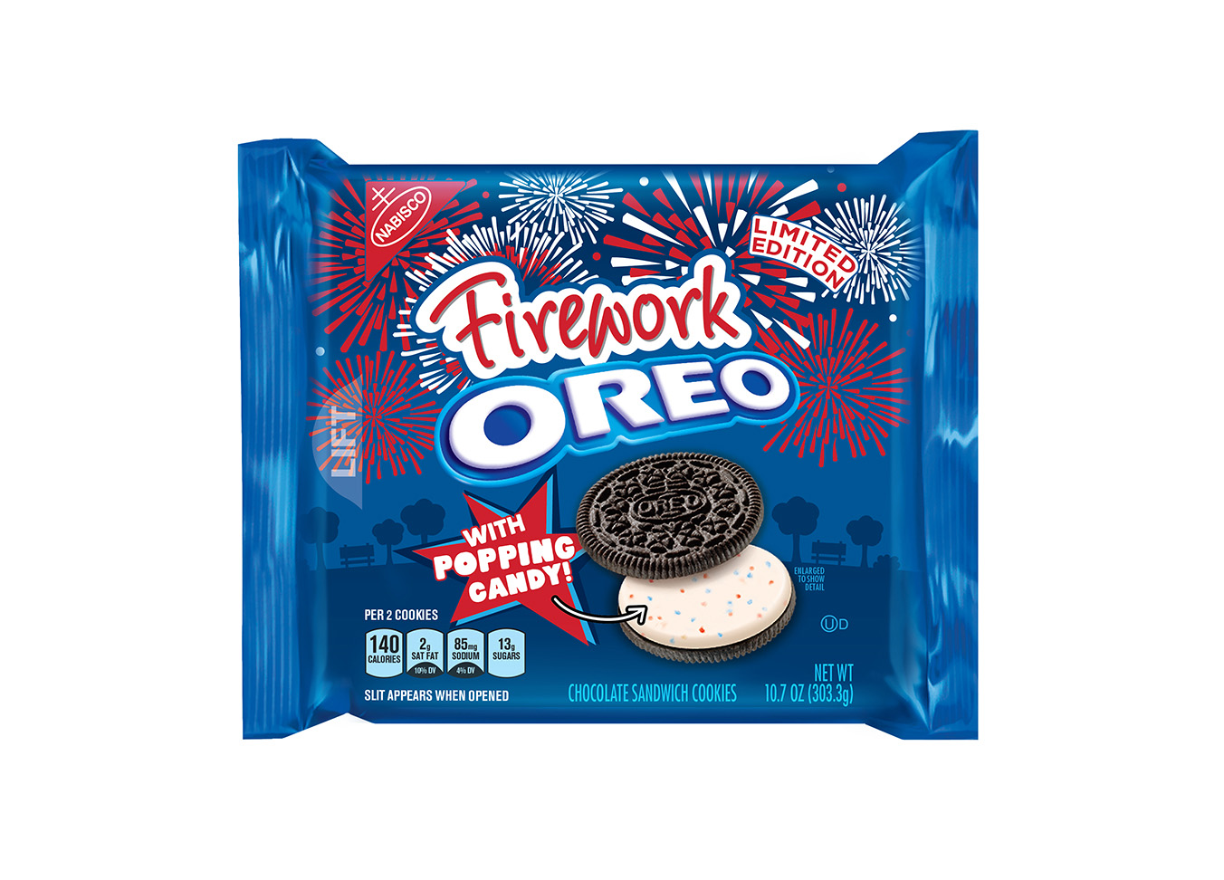 When it comes to delicious OREO creations, the brand believes the sky is the limit - literally! For the latest limited edition flavor, the OREO Wonder Vault released the wonder of a fireworks show.
