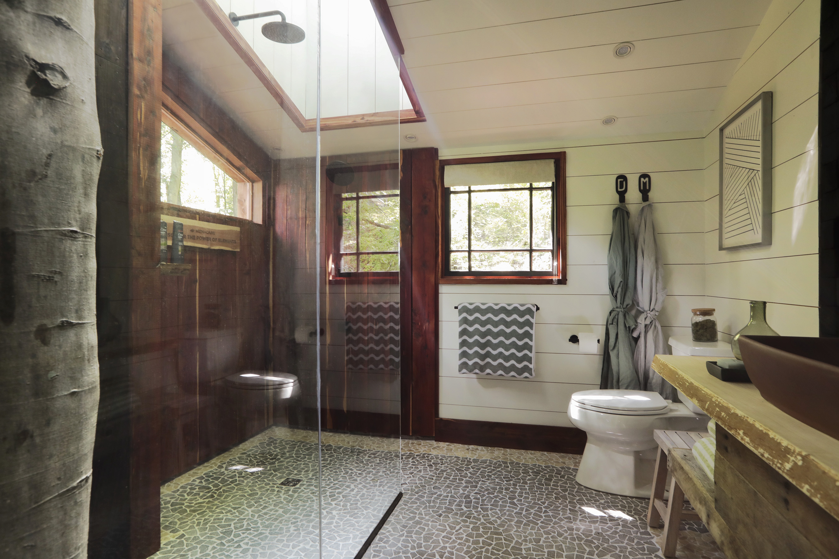 Dove Men+Care Elements Treehouse Bathroom
