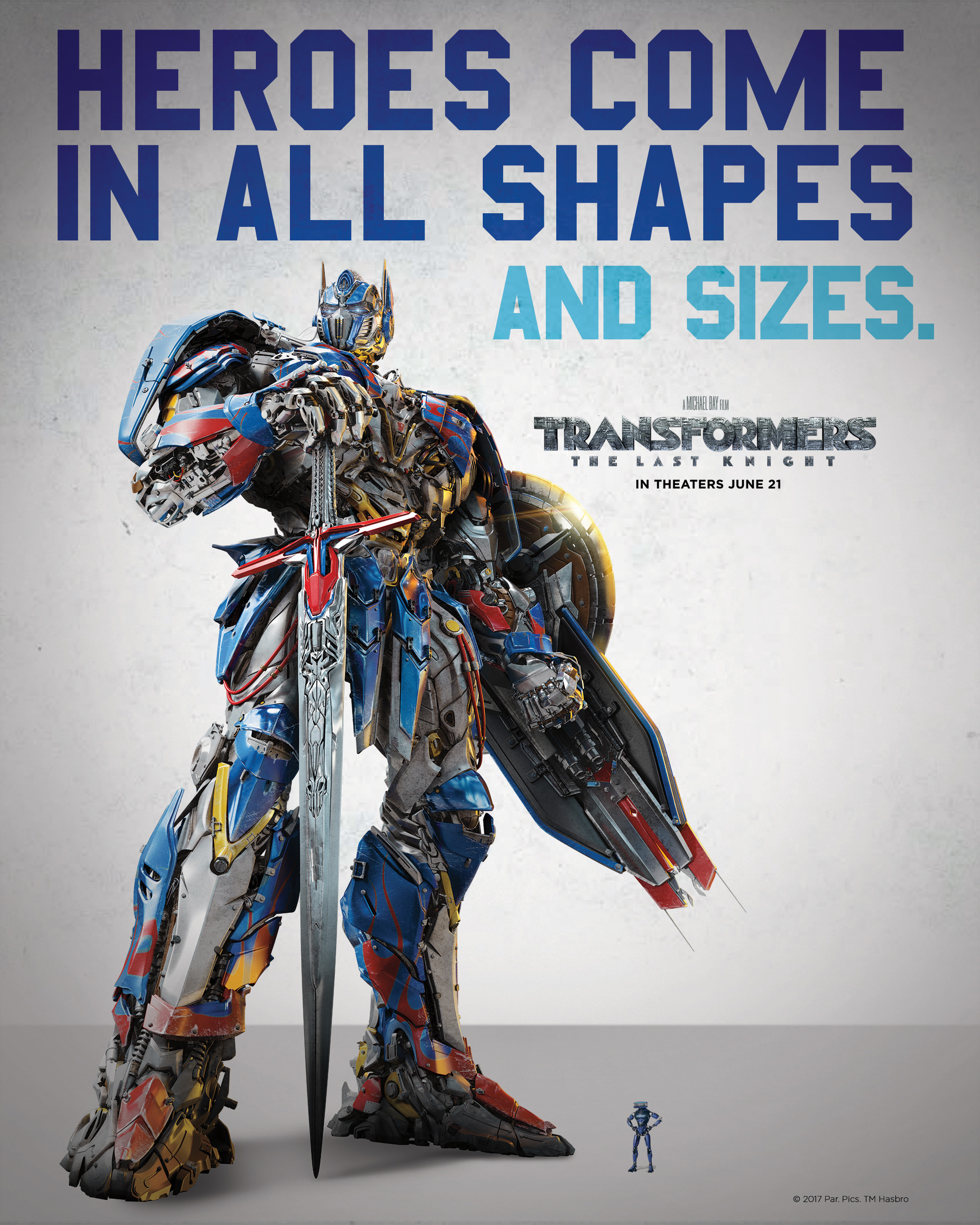 The Schick® Hydro® partnership with the new movie Transformers: The Last Knight, directed by Michael Bay, demonstrates how the brand brings to life the transformative powers of a great shave. The partnership highlights Schick Hydro's Hydrobot, the brand's iconic hero razor designed like no other, through a new TV commercial and limited-edition, collectible razors.