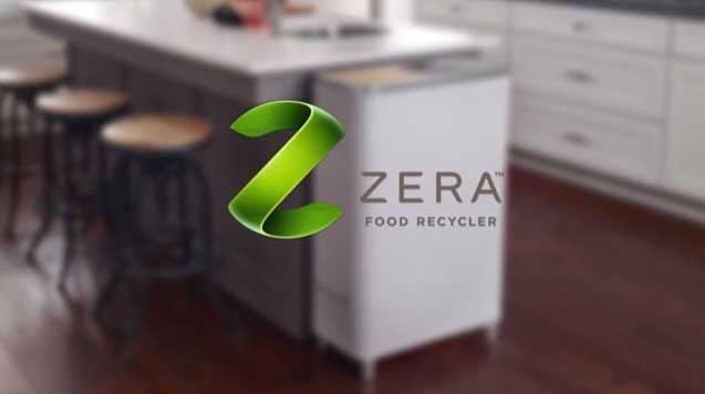 Zera™ Food Recycler can help reduce the amount of food waste that ends up in landfills.